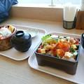 Photos: 駿河丼と海鮮チラシ。