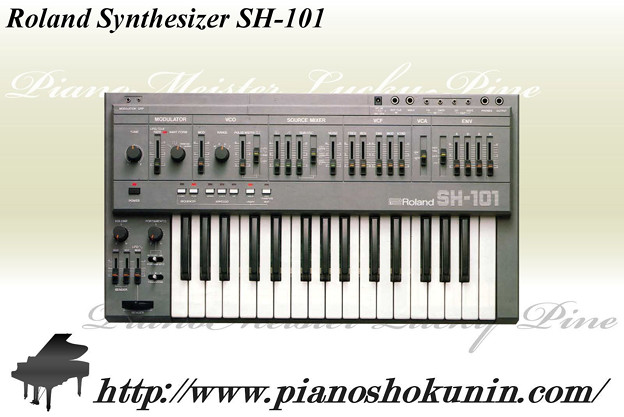 Roland Synthesizer SH-101