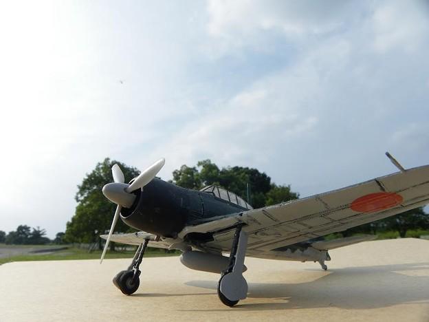 零戦 タミヤ製1/72プラモデル