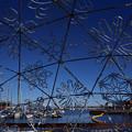 Photos: 港に雪