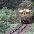 写真: 唐津線で『或る列車』