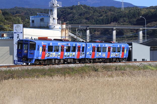 キハ200DC ラッピング列車