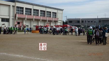 宮代町防災訓練01