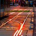 写真: ~AM06:50の風景~光る線路~♪