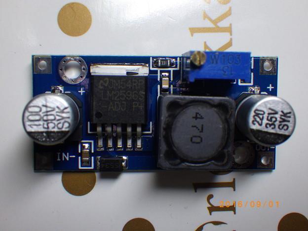 使用したDCDC電源ユニット
