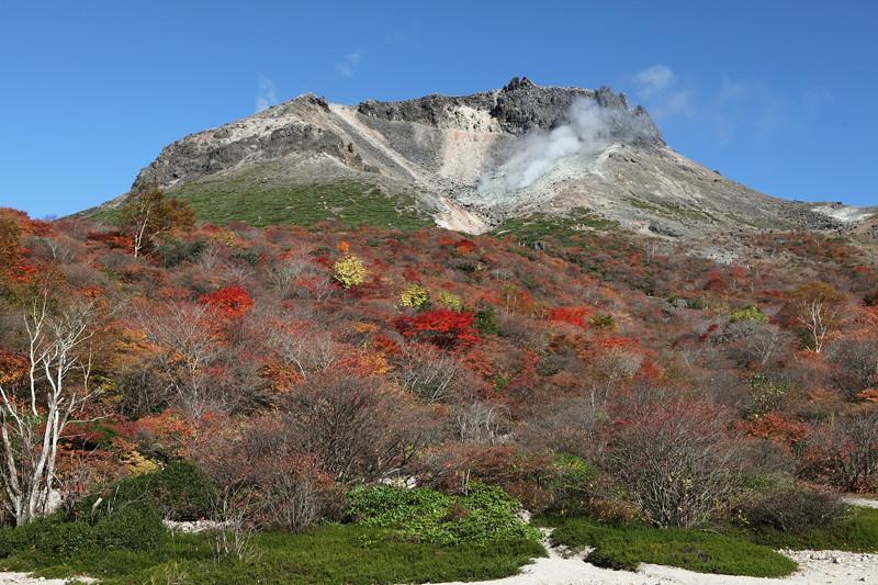 IMG_8925那須 茶臼岳 姥ヶ平の紅葉2