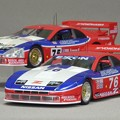 写真: 京商1/43スケール NISSAN 300ZX TWIN TURBO GTS 1994