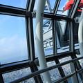 Photos: 東京スカイツリー 窓ガラス そうじ(◎_◎;)
