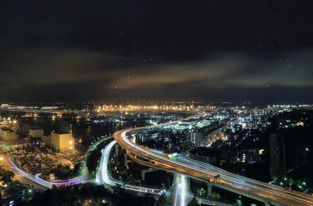Photos: マリンタワーから 横浜の夜景  星のシャワー☆彡