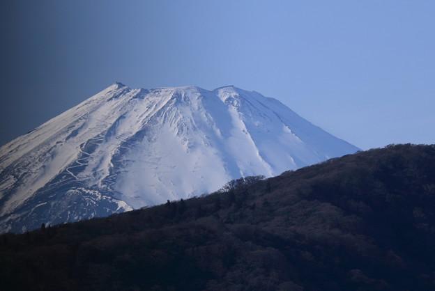 芦ノ湖 箱根町港から 富士山