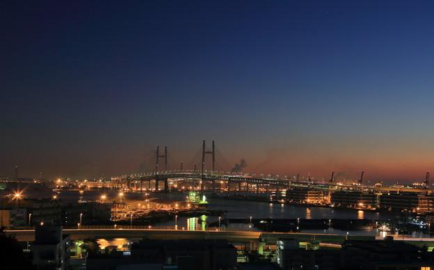 写真: 横浜ベイブリッジ
