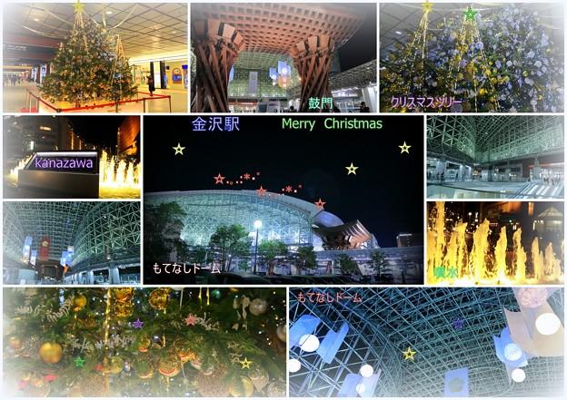 Merry Christmas 金沢駅