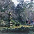 お正月の兼六園 瓢池