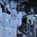 写真: 尾山神社 ツララ (拝殿)