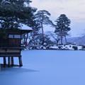 雪の兼六園 内橋亭