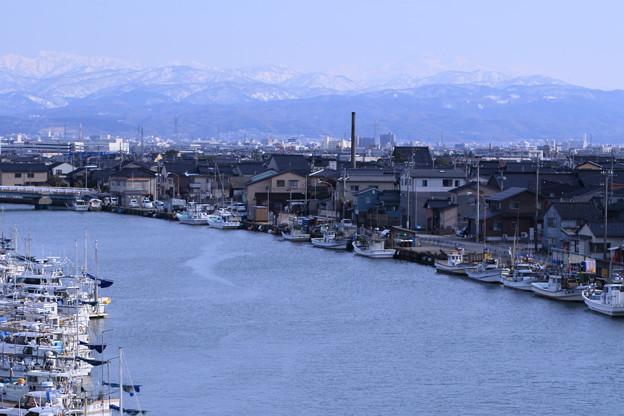 金沢港(大野漁港) 白山(1)