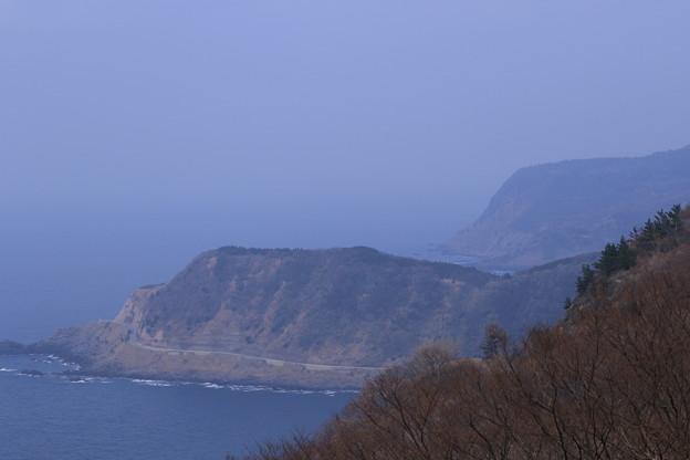 写真: 猿山岬から 能登の海