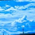入道雲です!