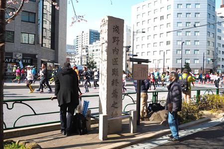東京マラソン 新橋