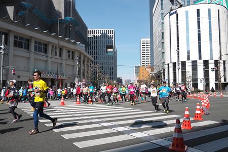東京マラソン 田町