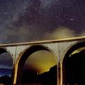 織姫星と彦星と虎臥城大橋
