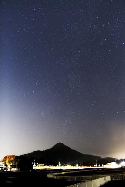 有馬富士と天の川