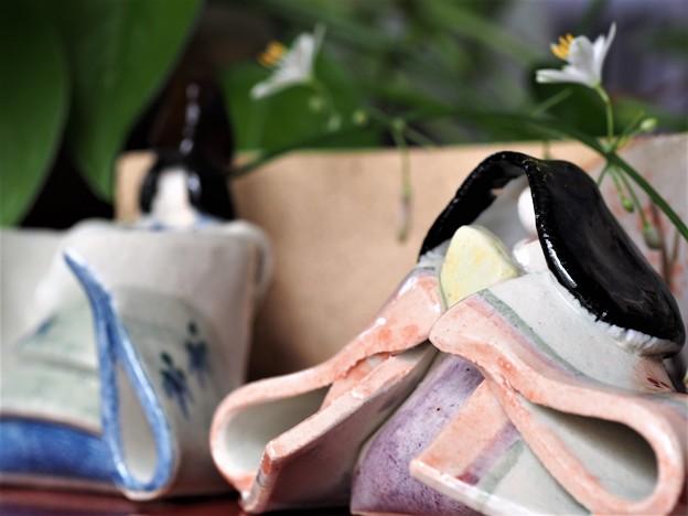 Photos: 雛に鶴を添えて