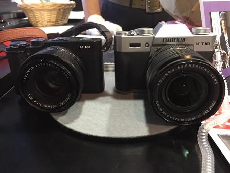 X-M1とX-T10