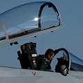 写真: F15_搭乗-1406