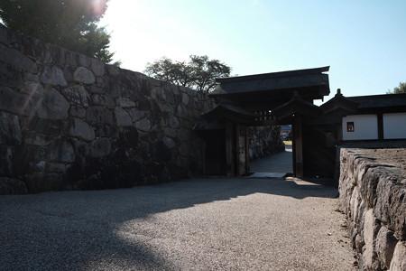 08松代城_北不明門と高麗門の枡形-2376
