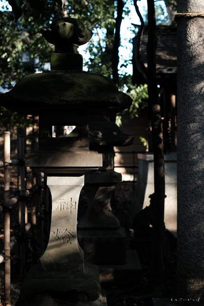 大国魂神社_05石灯籠-2003
