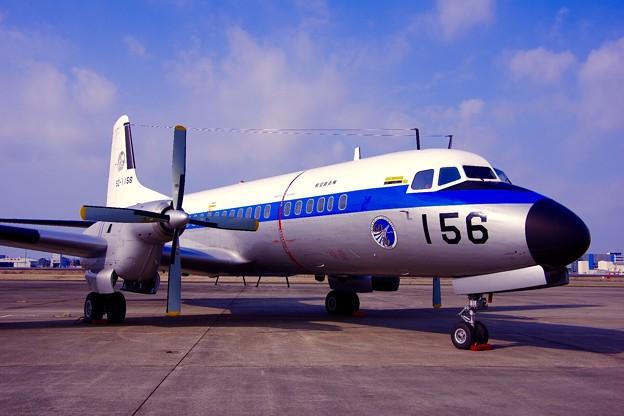 小牧基地航空祭。。美保からYS-11。。3月15日