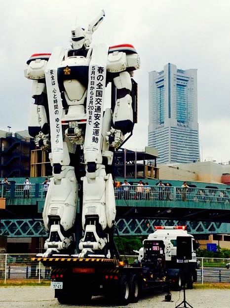 機動警察パトレイバー イングラム横浜みなとみらいへ。。5月9日