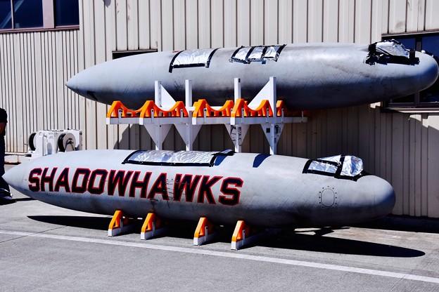 VAQ-141shadowhawksの燃料タンク無雑作に。。(^_^;)