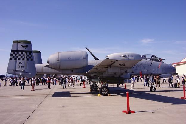 岩国基地 在韓米軍オーサンのA-10サンダーボルト。。5月5日