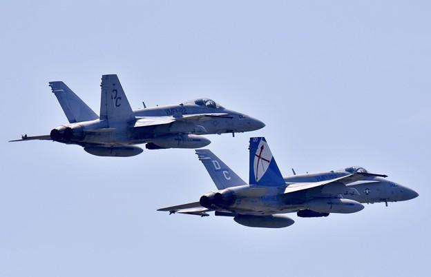 撮って出し。。岩国基地の米海兵隊VMFA-122クルセイダーズ セッション上がり。。6月11日