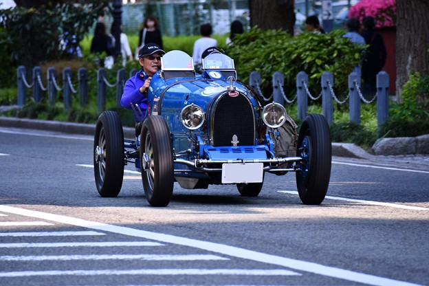 RALLY YOKOHAMA 名車 ブガッティT35B。。in山下公園 20160521