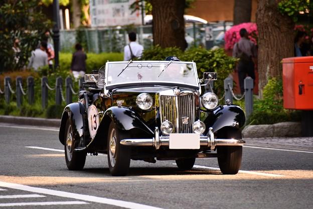 RALLY YOKOHAMA 名車 MG TD。。in山下公園 20160521