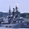 吉倉桟橋に停泊している護衛艦やまぎり。。
