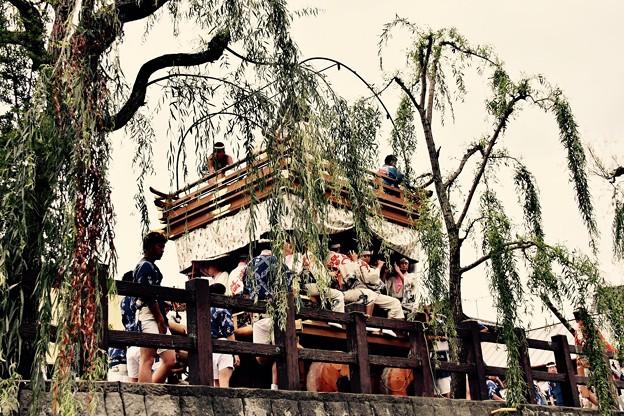 撮って出し。。水郷の町 佐原の大祭夏 山車 7月17日