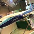 航空科学博物館。。初号機ボーイングB787模型。。20160626