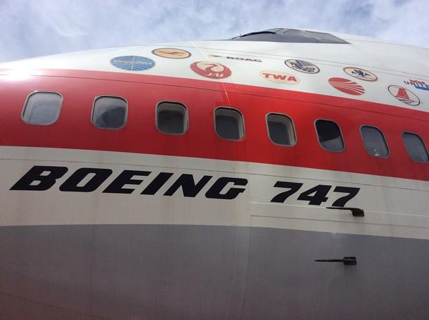 実機モデル。。ボーイングB747-200のセクション41。。20160626