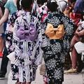 賑わう佐原の大祭。。浴衣女子。。20160717