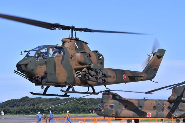 戦闘ヘリコプター。。木更津駐屯地のコブラ