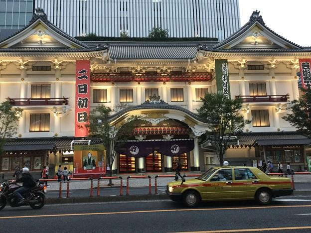 撮って出し。。夕方の新歌舞伎座 10月1日