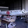 旧日本陸軍 一式双発高等練習機。。69年ぶりに十和田湖から引き揚げ 展示 20160910