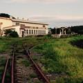 ここだけ残る十和田湖観光鉄道 七百駅付近 20160910