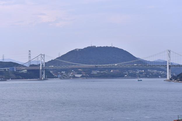 撮って出し。。久しぶりの北九州門司港。。関門海峡大橋 10月7日