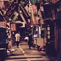 撮って出し。。昭和の商店街。。消える旦過市場