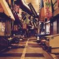 夜の旦過市場を散歩。。昭和時代残る風景 20161007